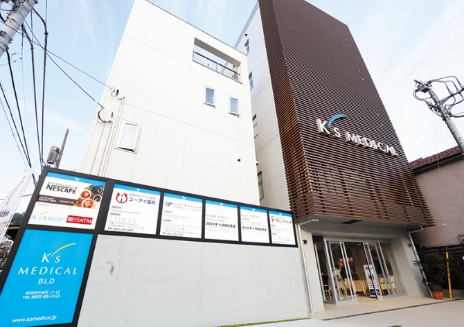 K'sメディカルビル内のクリニックをはじめとする他病院との連携